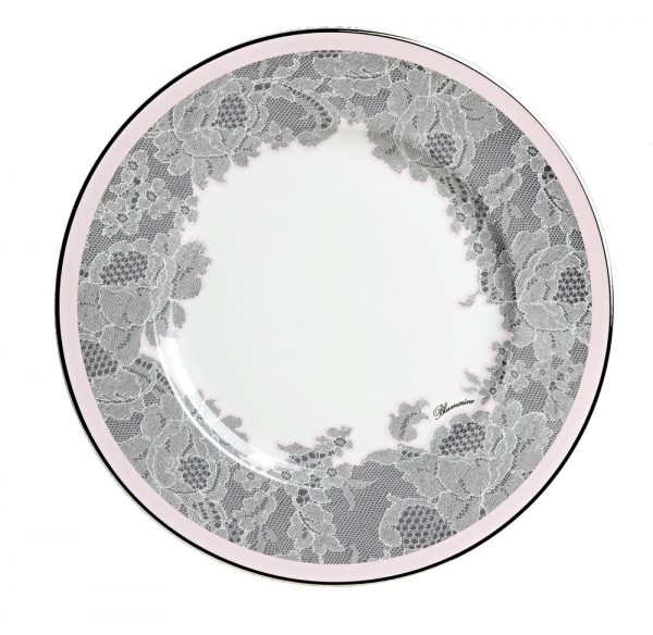 ROSE LACE DINNER PLATE