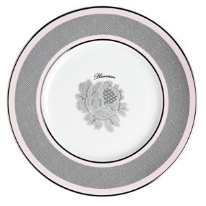 ROSE LACE DESSERT PLATE (Set 6 pcs)