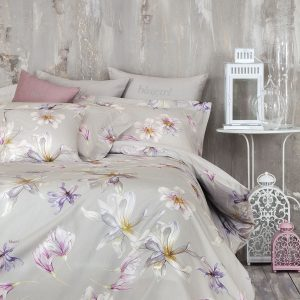 ANNAEL DUVET-COVER WITH BUTTONS FINISHING