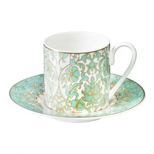 LILY ROCOCO COFFE CUP & SAUCER