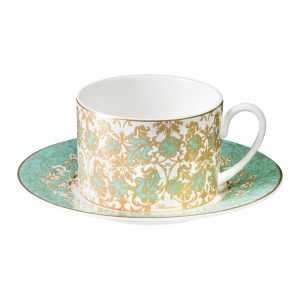 LILY ROCOCO TEA CUP & SAUCER