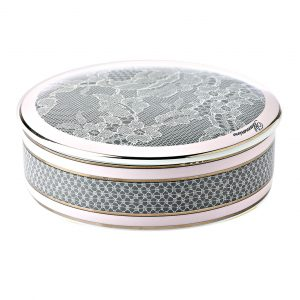 ROSE LACE ROUND BOX LARGE